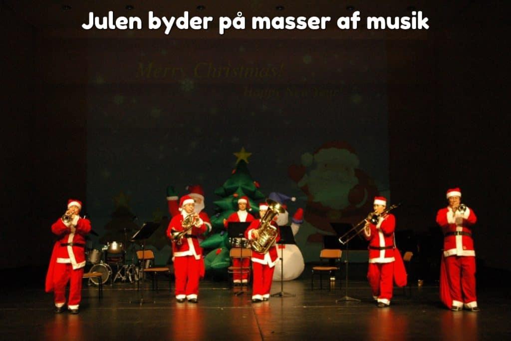 Julen byder på masser af musik